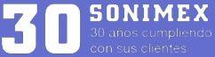 Logo Sonimex 30 aniversario